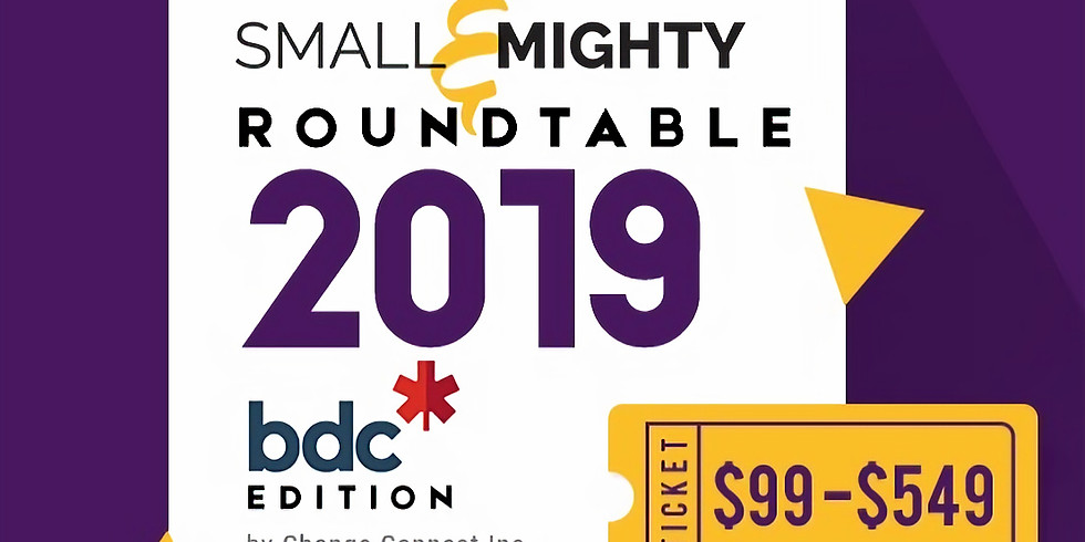 Small and Mighty Summit - Spring Roundtable Sponsored by BDC
