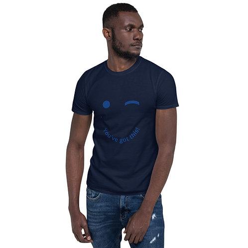 Short-Sleeve Unisex T-Shirt/Winking eye