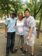Richard with Pedro and his Mom
