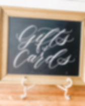 gifts-and-cards-chalkboard-utah-wedding-