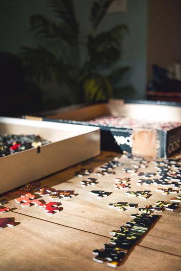 Puzzle games room