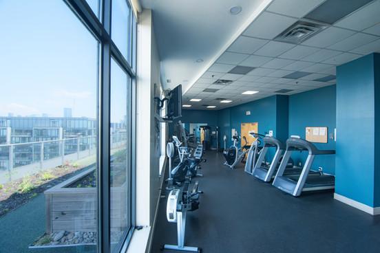 Clock Tower Lofts gym