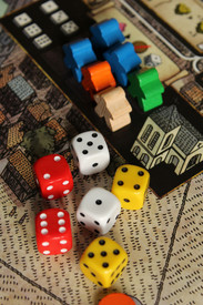 Games room dice