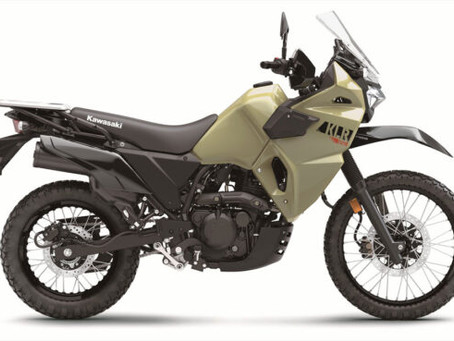 It's Back! All-New Kawasaki KLR 650 Is Unveiled