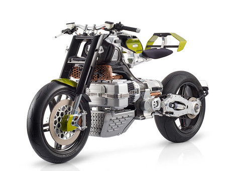 Futuristic South African motorcycle set to go into production.