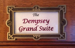 Plaque- The Dempsey Grand Suite