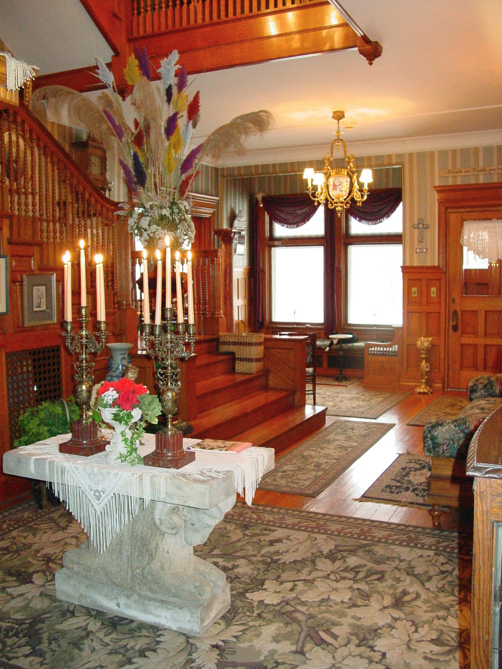 A View of the Grand Foyer