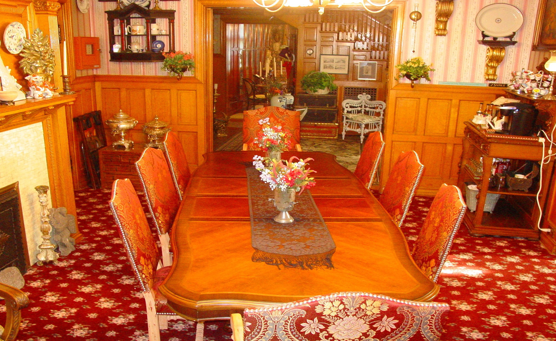 A View from the Dining Room