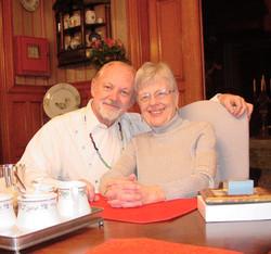 Jan & Jim at Table