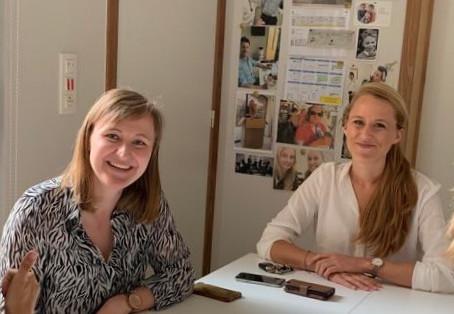 Succes aan Dokter Anneloor Dierickx en Dokter Isabelle Boon!