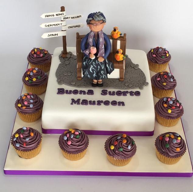 Good Luck cake.jpg