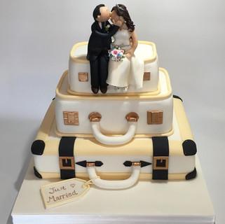 Suitcase Wedding