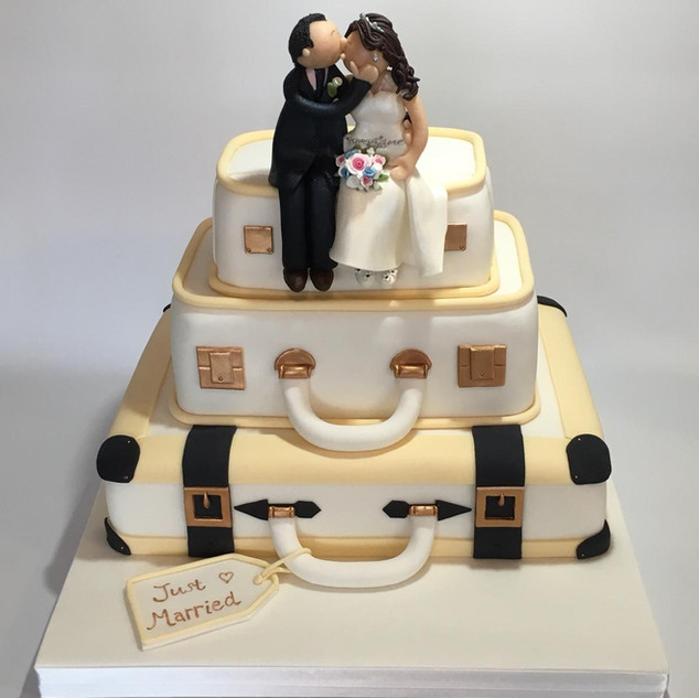 Suitcase Wedding