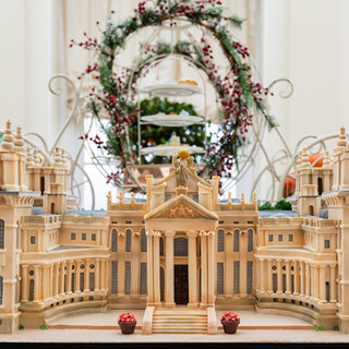 Blenheim mode in the Orangery at Blenheim Palace