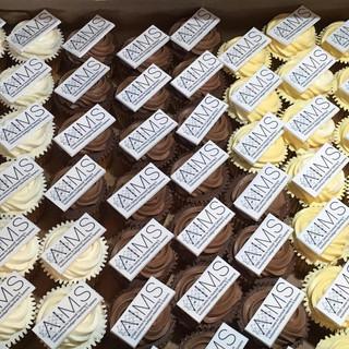 AIMS cupcakes