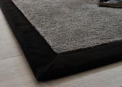 Teppich mit Einfassung