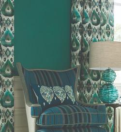 William Yeoward Cuzco Jade - Palenque Fabrics