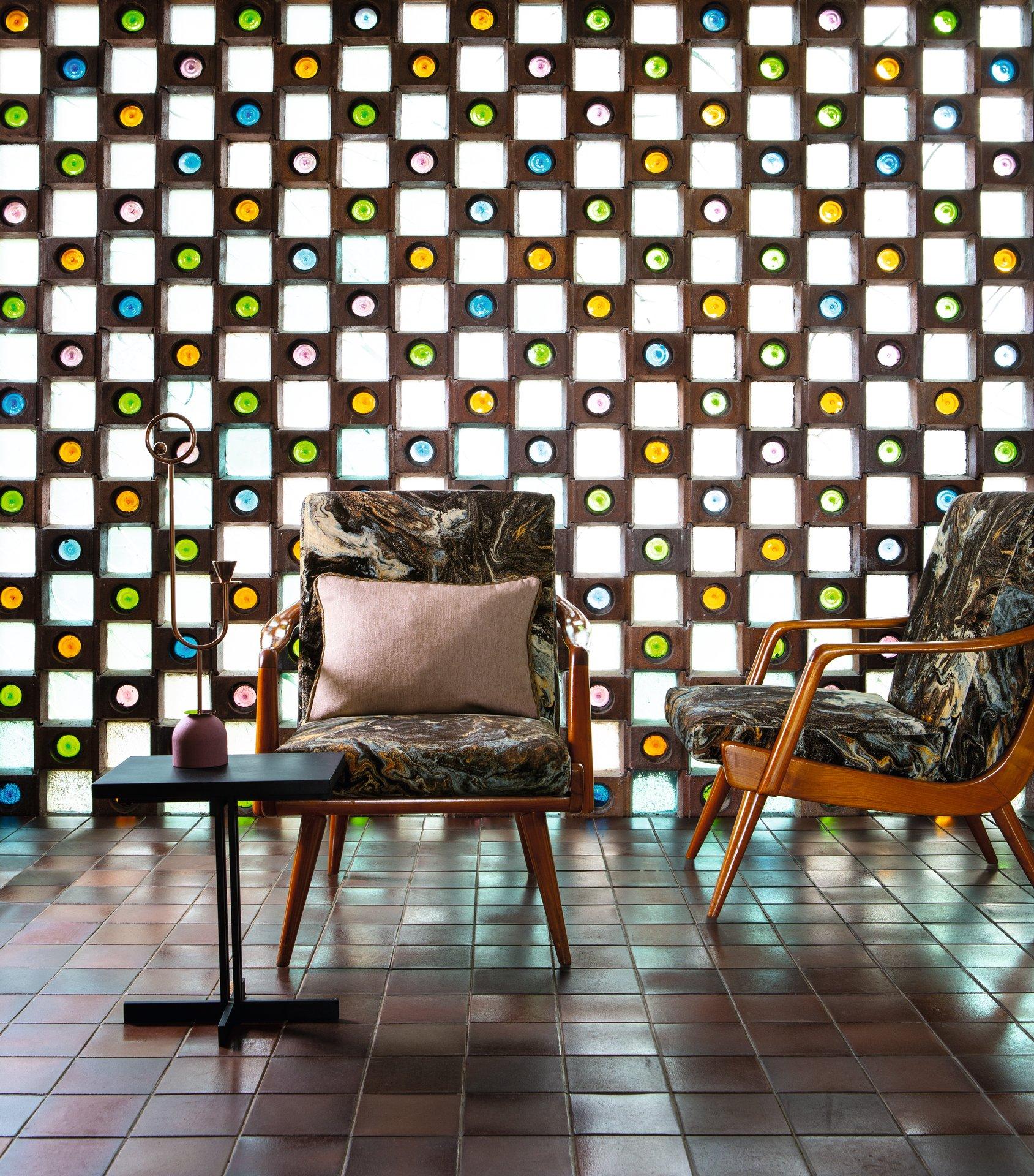 Armchair mit Carlucci Fabrics