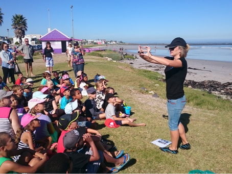 What's better for conservation than teaching somebody the beauty of marine life?