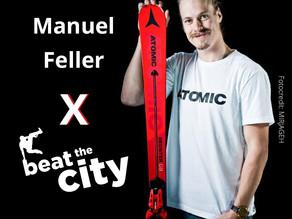Manuel Feller geht für beat the city an den Start!