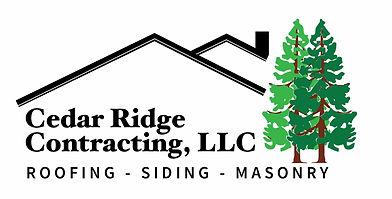 Cedar Ridge Contracting logo