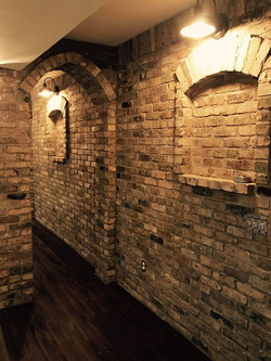 brick interior work