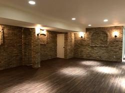 basement brick work