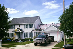 roofing job example
