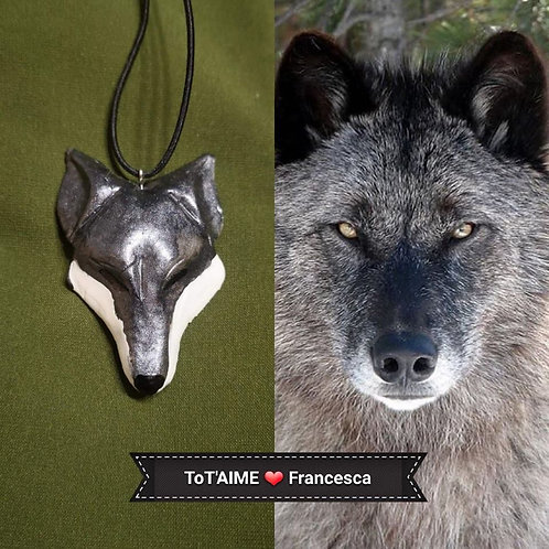 Collier Tot'Aime Loup