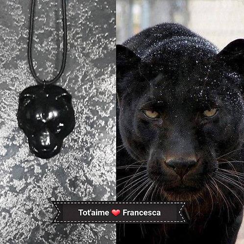 Collier Tot'Aime Panthère noire