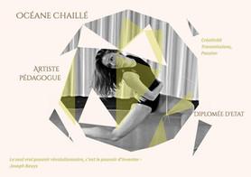 Océane Chaillé, artisite pédagogue