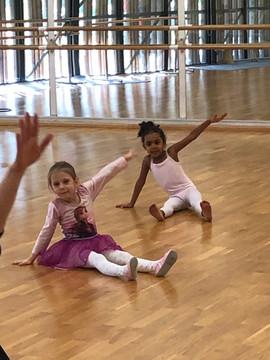 Nos cours d'éveil à la danse