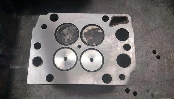 Головка блока цилиндров MAN TGA. D2866LF.