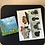 Thumbnail: Kid Postcards, Mini canvases and gifts (set of 3)