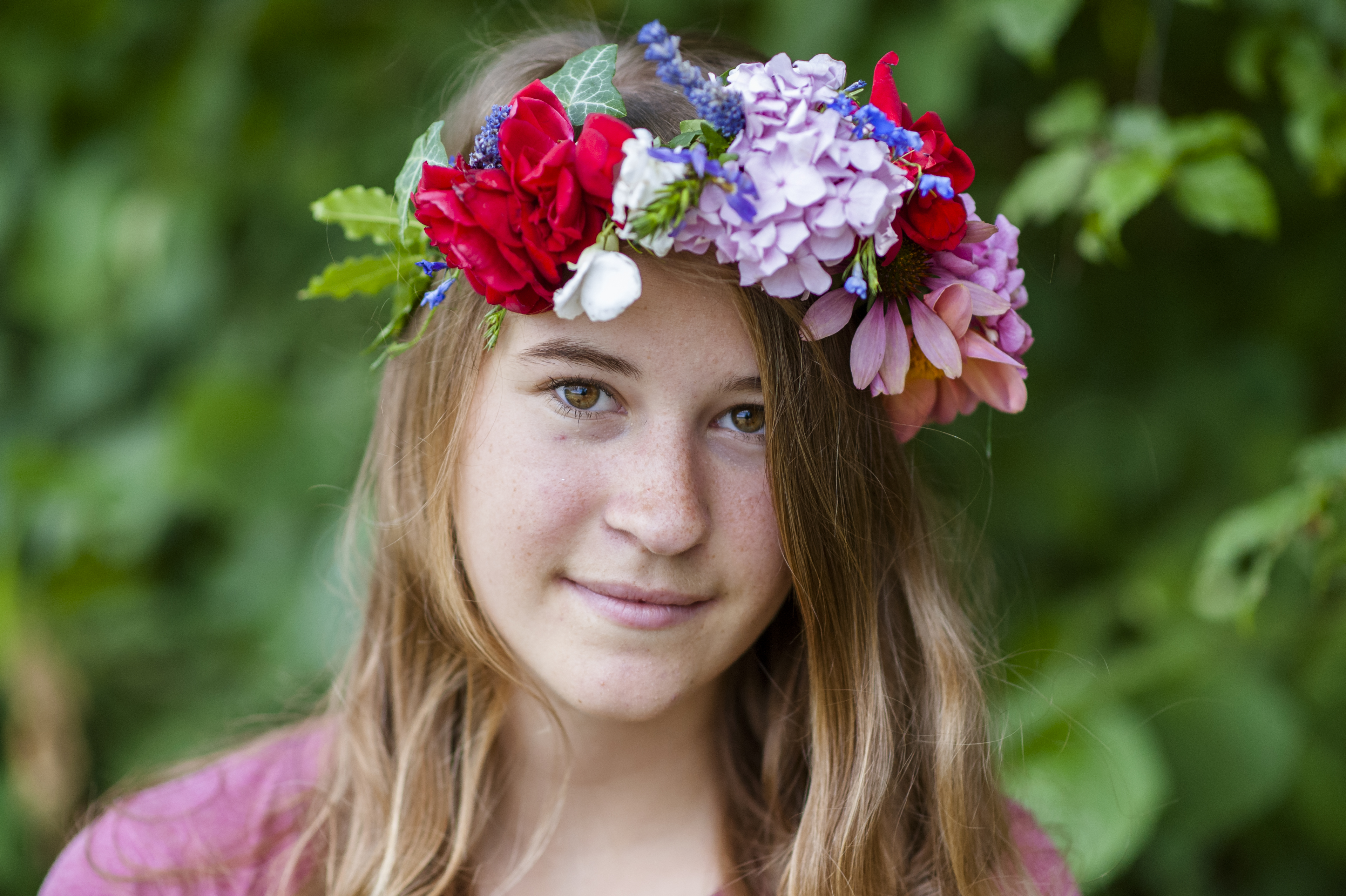 Blumenkranz, Mädchen