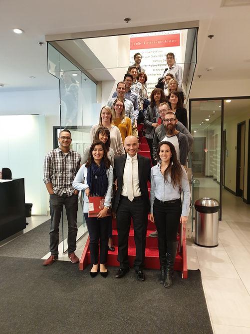 McGill CDE Course participants