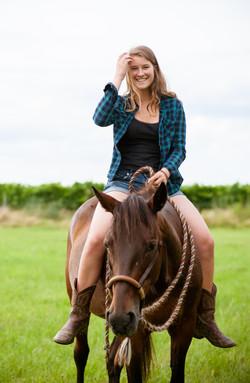 Pferd, Mädchen, Spaß