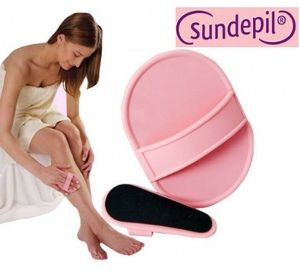 Sundepil Hair Removing Pads Pink
