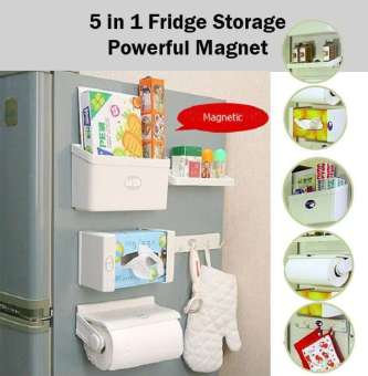 5 in 1 New Feeling Fridge Shelf Storage Set Organiser