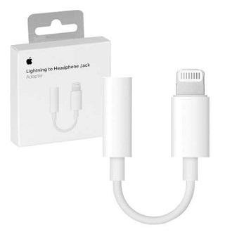 Lightning To Headphone Jack Adapter For Iphone 7/ 8/ X ( 10 )