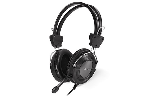 A4TECH HEADPHONES MIC IN LINE COMFORTFIT STEREO HEADSET (HS-19)