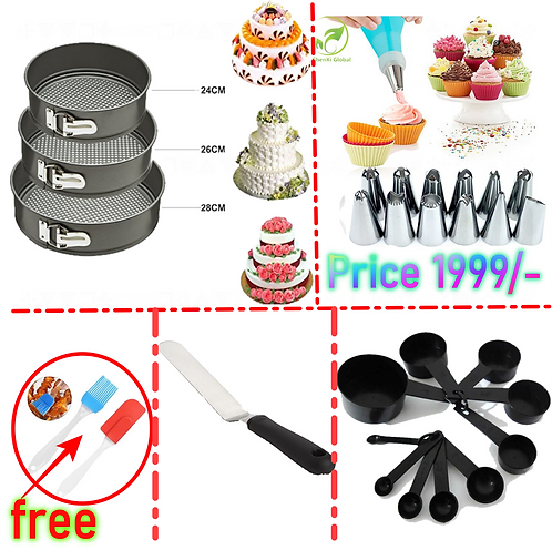 Pack Of 5 Baking Deal