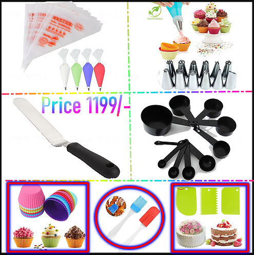 Pack Of 7 Cake Decorating  Deal