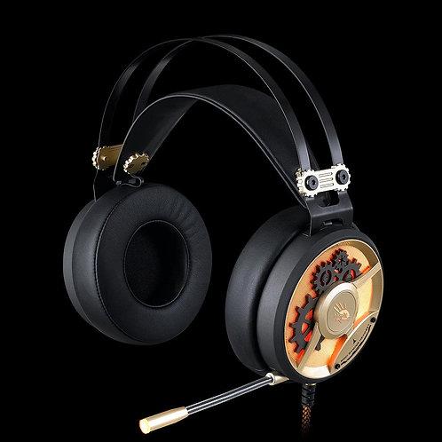 BLOODY GAMING HEADPHONES (ULTIMATE SURROUND SOUND) CHRONOMETER M660 BLACK