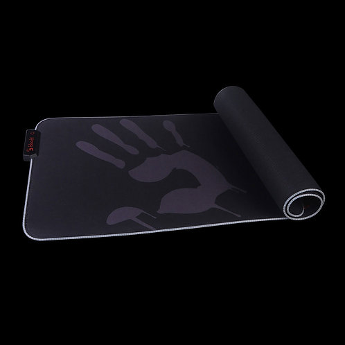 BLOODY GAMING MOUSE PAD RGB GAMING MOUSE PAD - EXTENDED ROLL-UP FABRIC RGB GAMIN