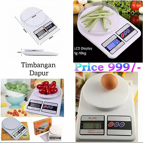 Electronic Kitchen Scale Measur Upto 10/Kg