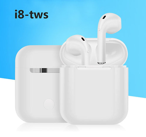 i8 TWS Mini Earphones Bluetooth Headset Wireless Earbuds with Charging Box