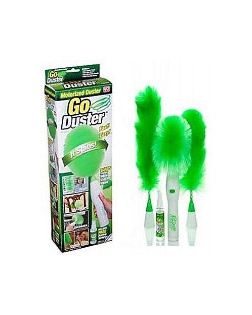 Go Duster Rotating Cleaner Dusting Brush - Green