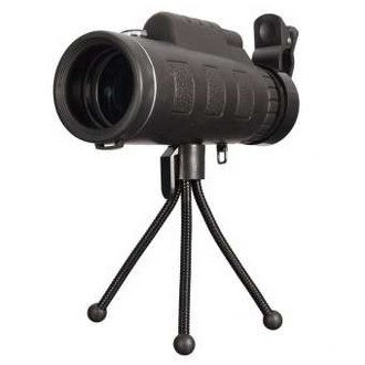 PANDA Camping Hunting Surveillance Scope With Tripod Waterproof Monocular 40x60
