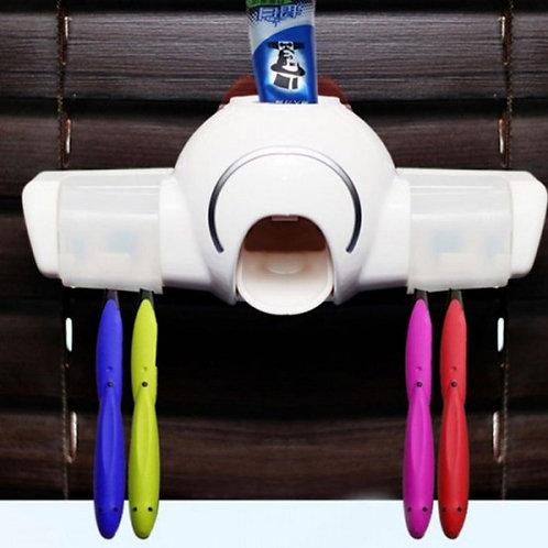 KAIYI Toothbrush Toothpaste Storage